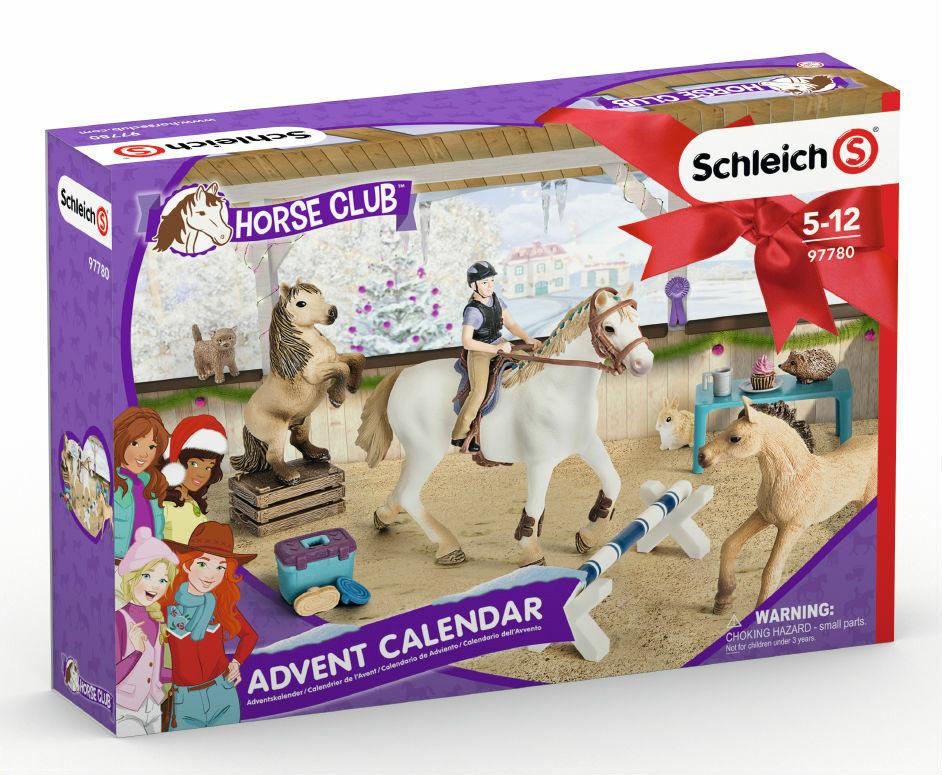 schleich joulukalenteri hevoset 2018 Schleich joulukalenteri 2018, Horse Club   Upeat Schleich  schleich joulukalenteri hevoset 2018