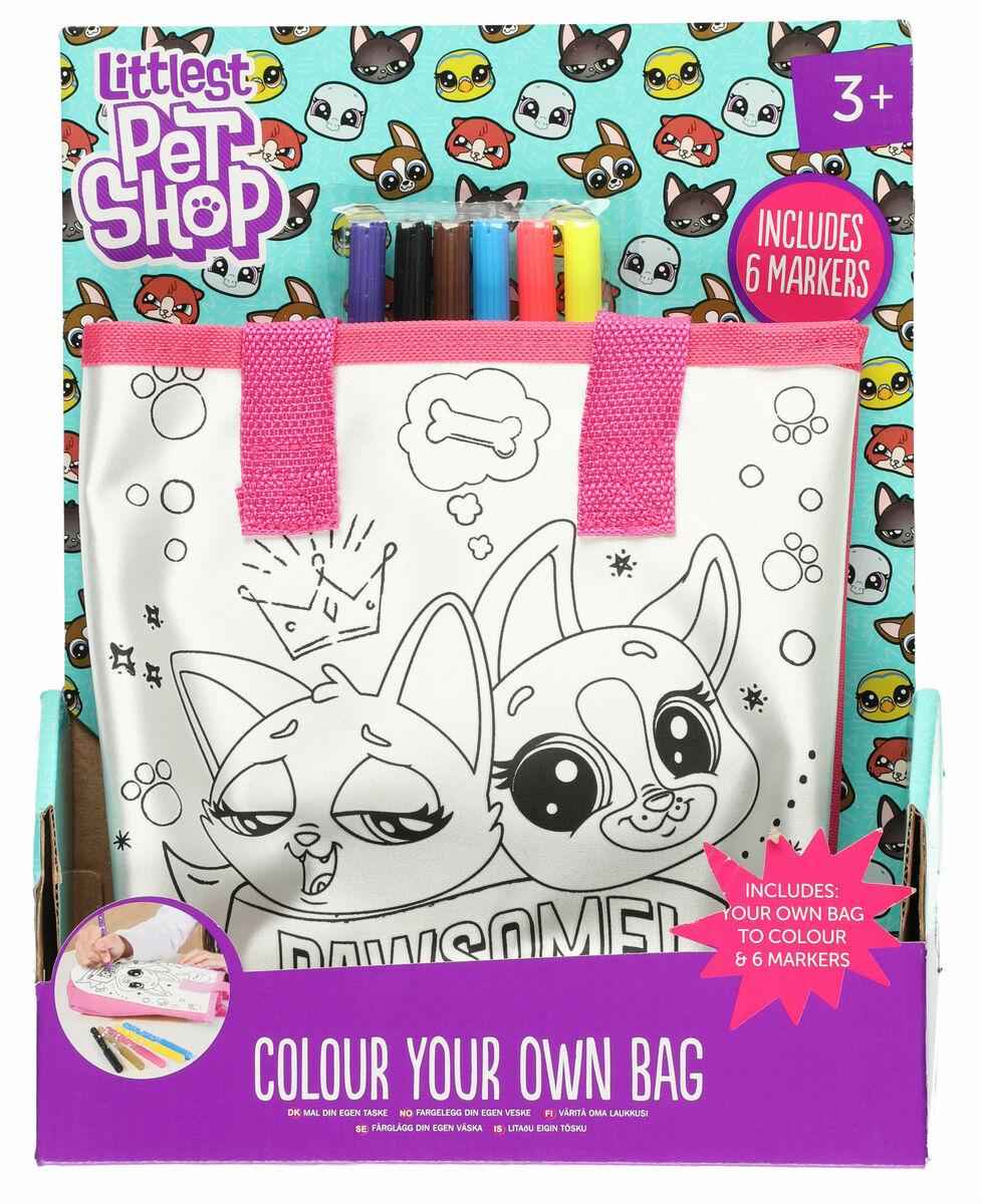 Littlest Pet Shop väritettävä käsilaukku. Tap to expand 945319efa3