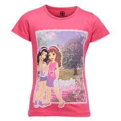 Lego Wear Friends t-paita, Dark Pink