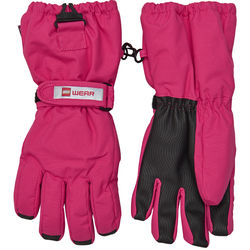 Lego Wear Tec hanskat, Aiden 703 dark pink