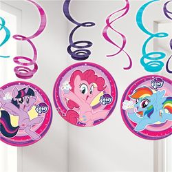 My Little Pony juhlakoristeet 6 kpl