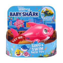 Baby Shark Robo Alive kylpylelu, Mommy Shark