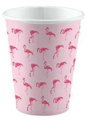 Flamingo muki 250ml 8kpl