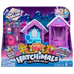 Hatchimals Colleggtibles Glitter Salon leikkisetti