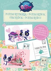 Littlest Pet Shop postikorttikirja