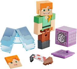 Minecraft Comic Maker Action Figuuri, Alex with Elytra