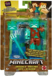 Minecraft Comic Maker Action Figuuri, Drowned