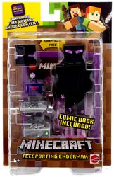 Minecraft Comic Maker Action Figuuri, Teleporting Enderman