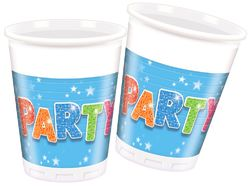 Party muki 200ml 8kpl