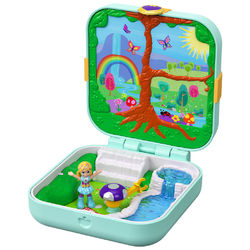 Polly Pocket Hidden Hideout, Flutterrific Forest