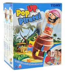 Pop-Up Pirate peli