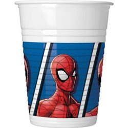 Spiderman muki 200ml 8kpl