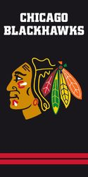NHL Chicago Blackhawks pyyhe 140x70cm
