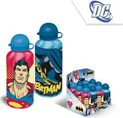 Batman / Superman alumiininen juomapullo 500ml