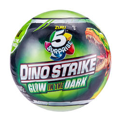 Dino Strike Glow in the Dark 5 Surprise Yllätyspallo