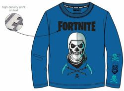 Fortnite paita Skeleton sininen 122-164cm