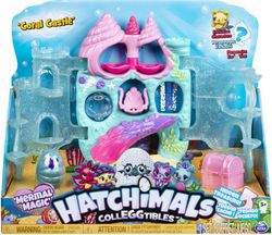 Hatchimals Colleggtibles Coral Castle leikkisetti