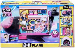 L.O.L. Surprise OMG Remix Plane 4in1 Leikkisetti