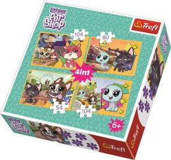 Trefl 4in1 palapeli Littlest Pet Shop