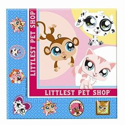 Littlest Pet Shop lautasliina 16kpl