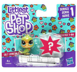 Littlest Pet Shop Mini 2-pack, lintu+yllätys