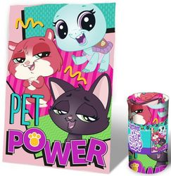 Littlest Pet Shop fleeceviltti