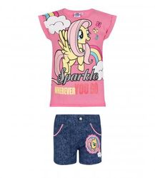 My Little Pony t-paita&shortsit