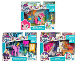 My Little Pony Story sets figuuri ja tarvikkeet