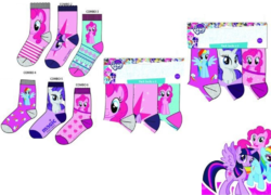 My Little Pony sukat 3pack