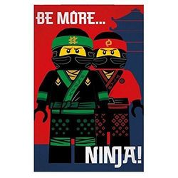 Lego Ninjago fleeceviltti, Be More Ninja!