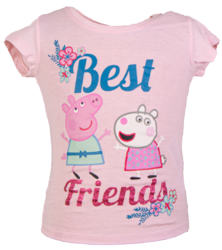 Pipsa Possu t-paita Best friends