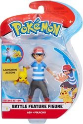 Pokemon Battle figuurit, Ash&pikachu