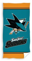 NHL San Jose Sharks pyyhe 140x70cm