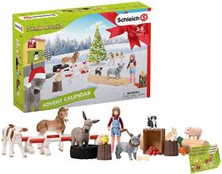 Schleich joulukalenteri 2019, Farm world