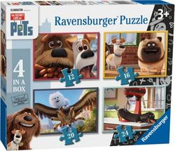 Secret Life Of Pets palapeli 4 in 1