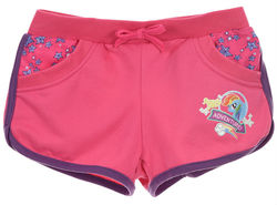 My Little Pony shortsit, fuksia