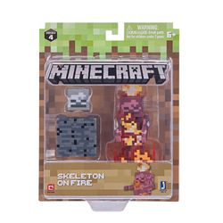 Minecraft Action Figuuri, Skeleton on fire