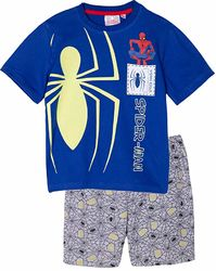 Spiderman shortsipyjama, Glow in the dark