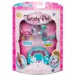 Twisty Petz 3kpl, Mouse&Roo + surprise