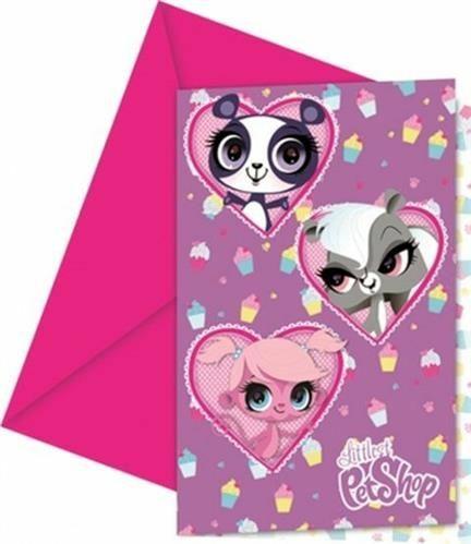 Littlest Pet Shop kutsukortit - LPS syntymäpäiväjuhlien tarvikkeet ... 7f8a3bdd19